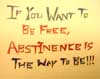 Abstinence mini poster